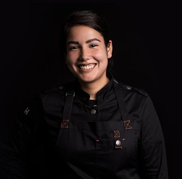Lady chef Reshma